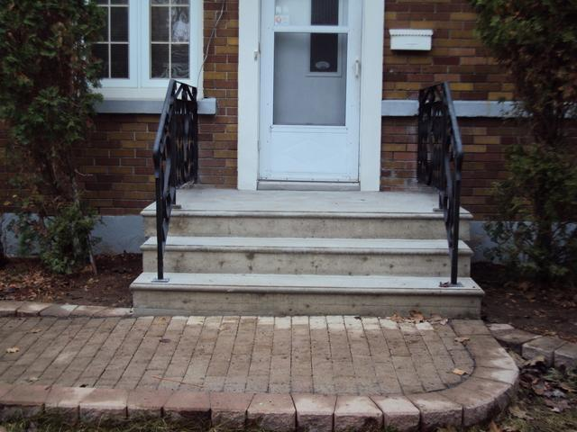 Custom Concrete Stairs Installed in Ottawa, ON