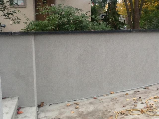 Decorative Coating for Foundation Walls Above Grade in Ottawa