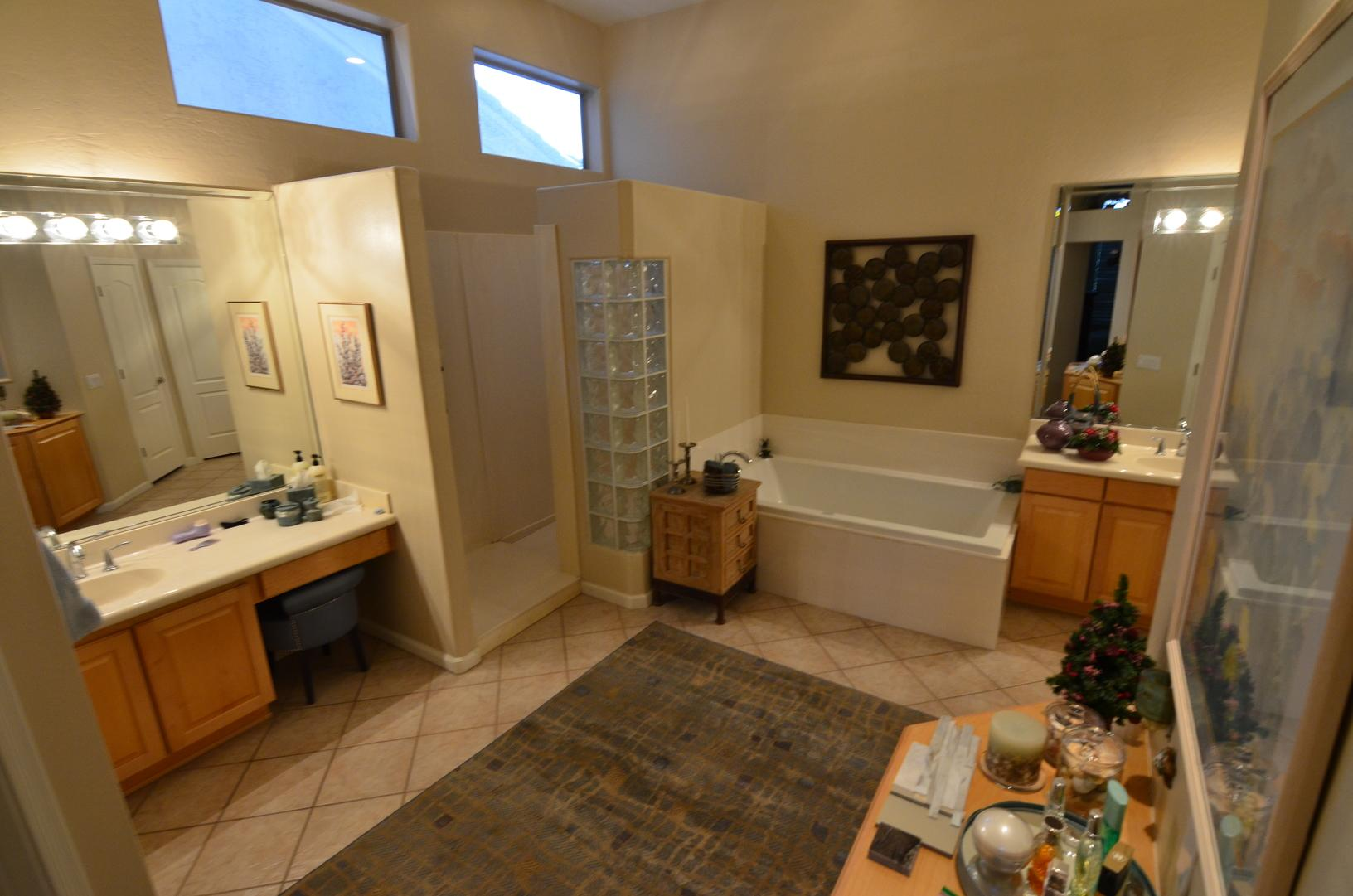 Complete Masterbath Remodel Project in Scottsdale, AZ - Before Photo