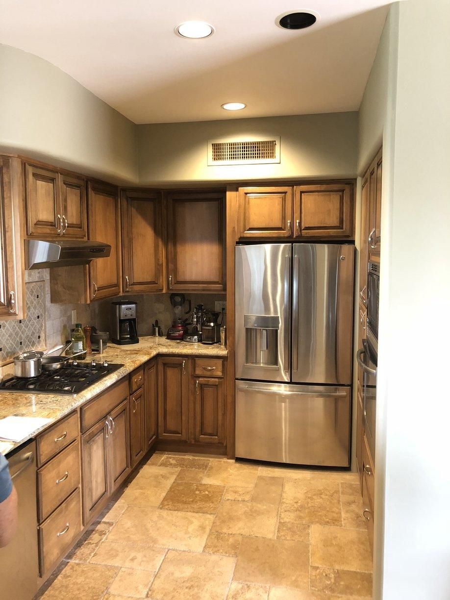 Scottsdale, AZ Kitchen Remodel - Before Photo