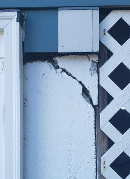 Large Crack Seal, Nashua, NH - Before Photo