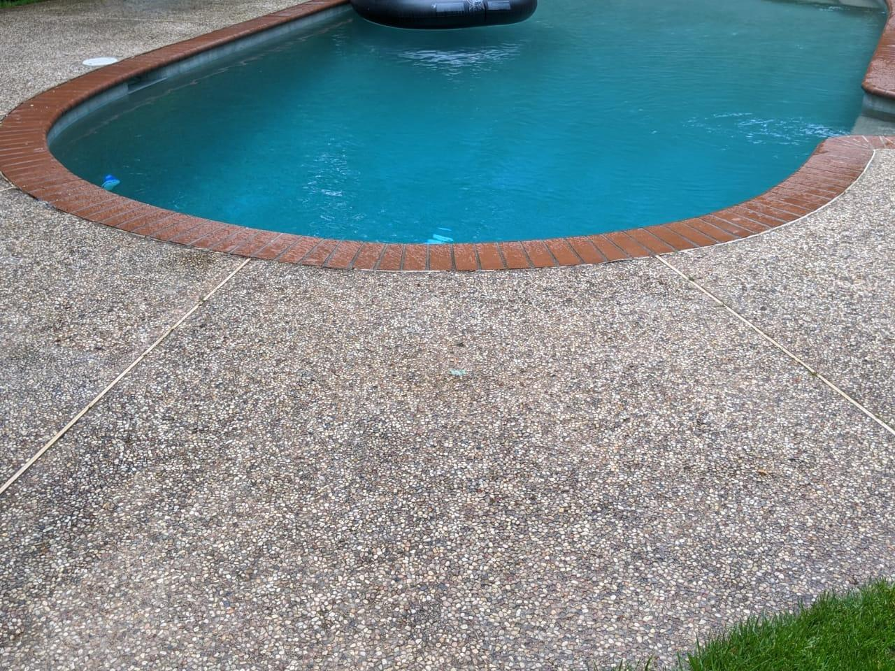 Pool Deck Leveling, Norfolk, MA - After Photo