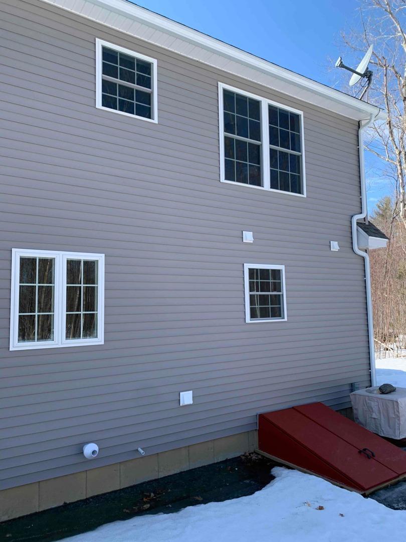 Radon Mitigation System, Jaffrey, NH - Before Photo