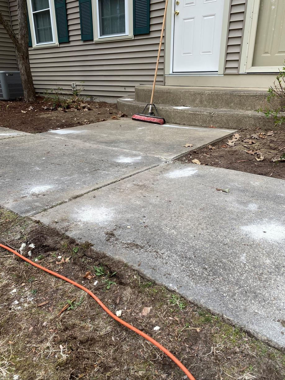 Concrete Walkway PolyLevel, Nashua, NH - After Photo