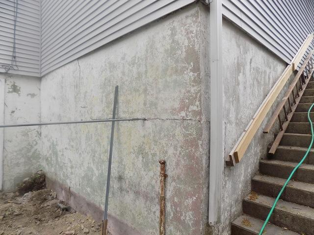 Bowing Wall on Raised Foundation