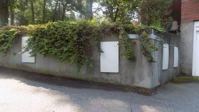 Leaning Retaining Wall Repair - Chelmsford, MA