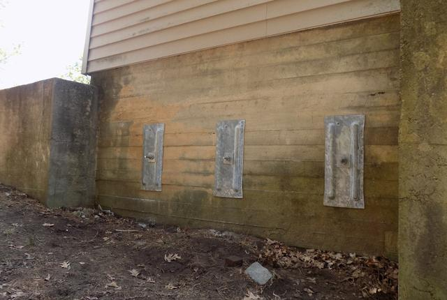 Leaning Concrete Wall Repair - Hudson, NH