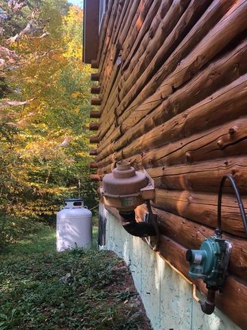 Replacing Old Radon System, Thornton, NH
