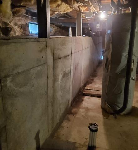 Cracked & Broken Foundation Wall Replacement, Derry, NH