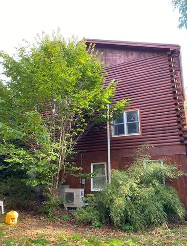 Radon Mitigation System Townsend, MA - Before Photo
