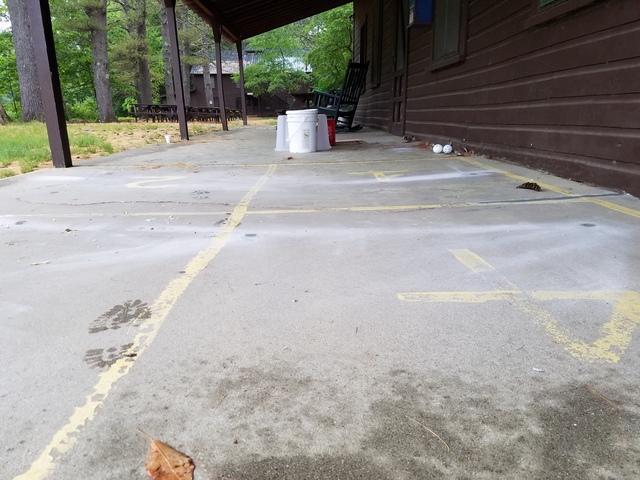 Sunken Patio Repair in Meredith, NH