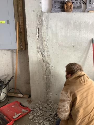 Waterproofing Retaining Wall, Westford, MA