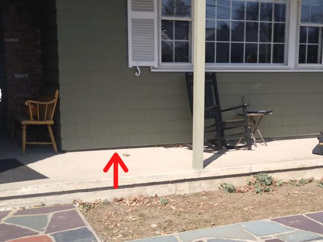 Concrete Front Porch Repair, Wakefield, MA