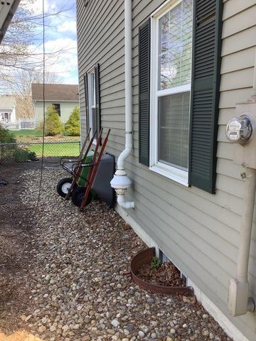 Radon Mitigation System, Amesbury, MA