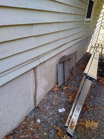 Foundation Crack, Nashua, NH