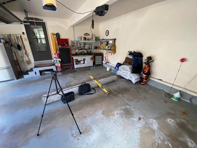 PolyLevel in Garage, Salem, NH