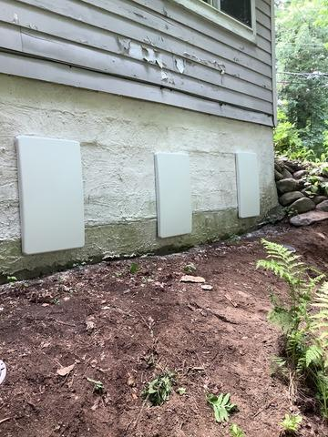 Rear Garage Wall Bowing Out, Bow, NH