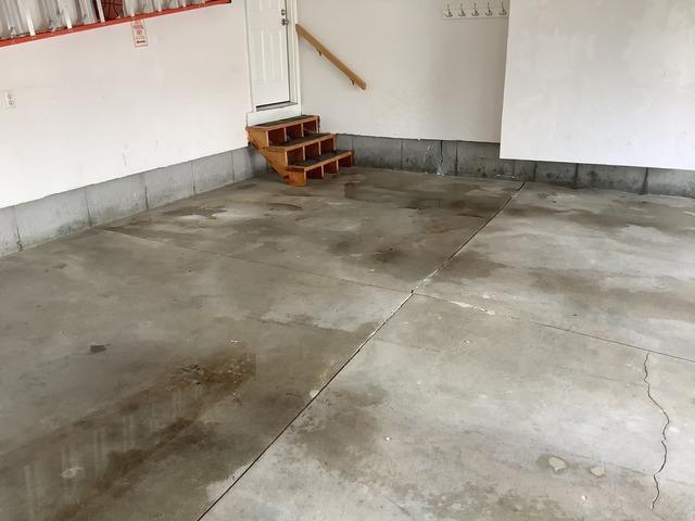 Resurfacing Garage Floor, Marlboro, MA