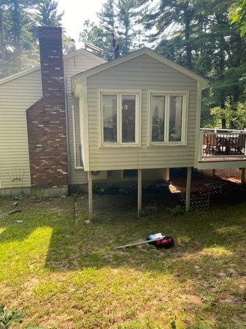 Sunroom Support Posts Replacement, Londonderry, NH