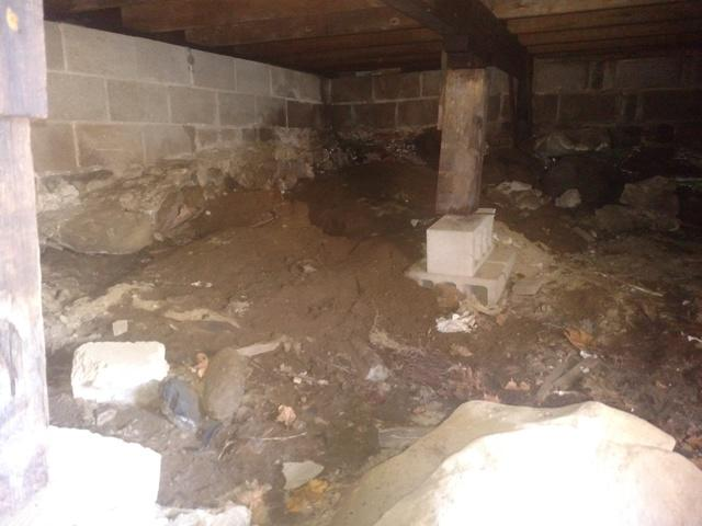 Crawl Space Encapsulation in Portsmouth, NH