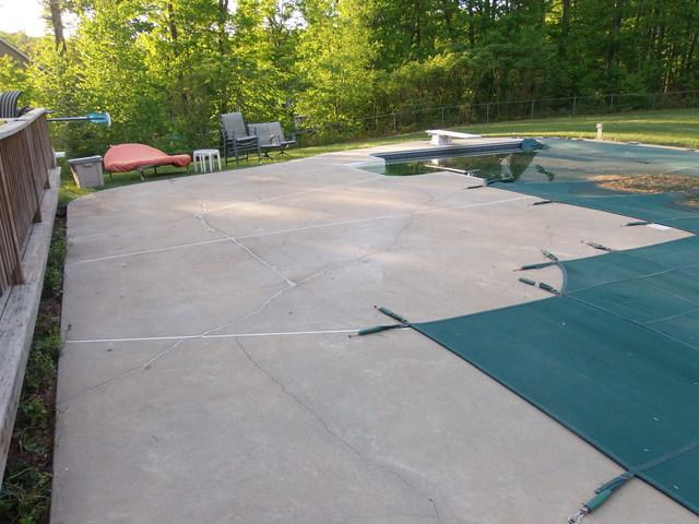 Pool Patio Repair, Brookline, NH
