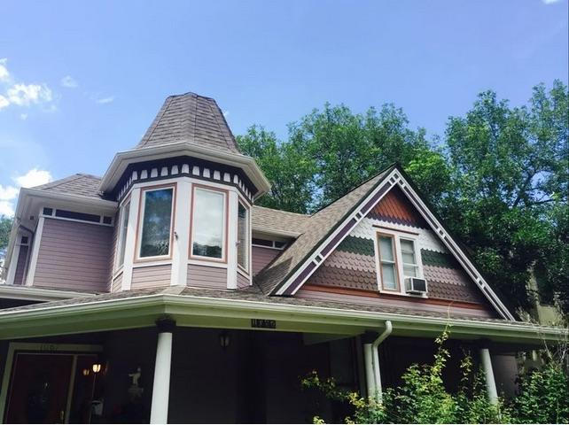 Victorian Roof Replacement in Denver, CO - Before Photo