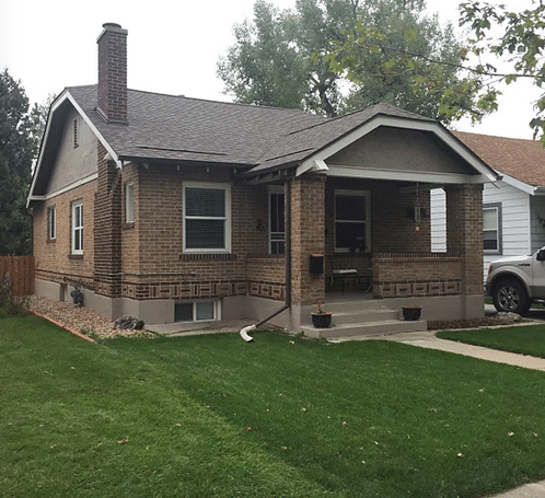Stone Coated Steel Roof on a Bungalow in Denver, CO - Before Photo