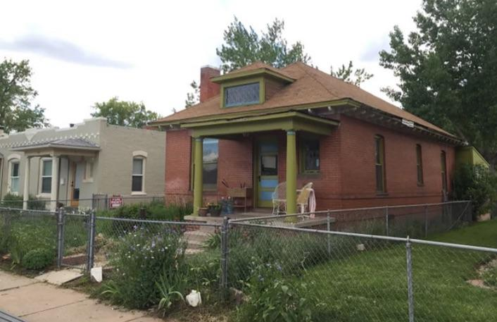 Bruised Bungalow in Denver - Before Photo
