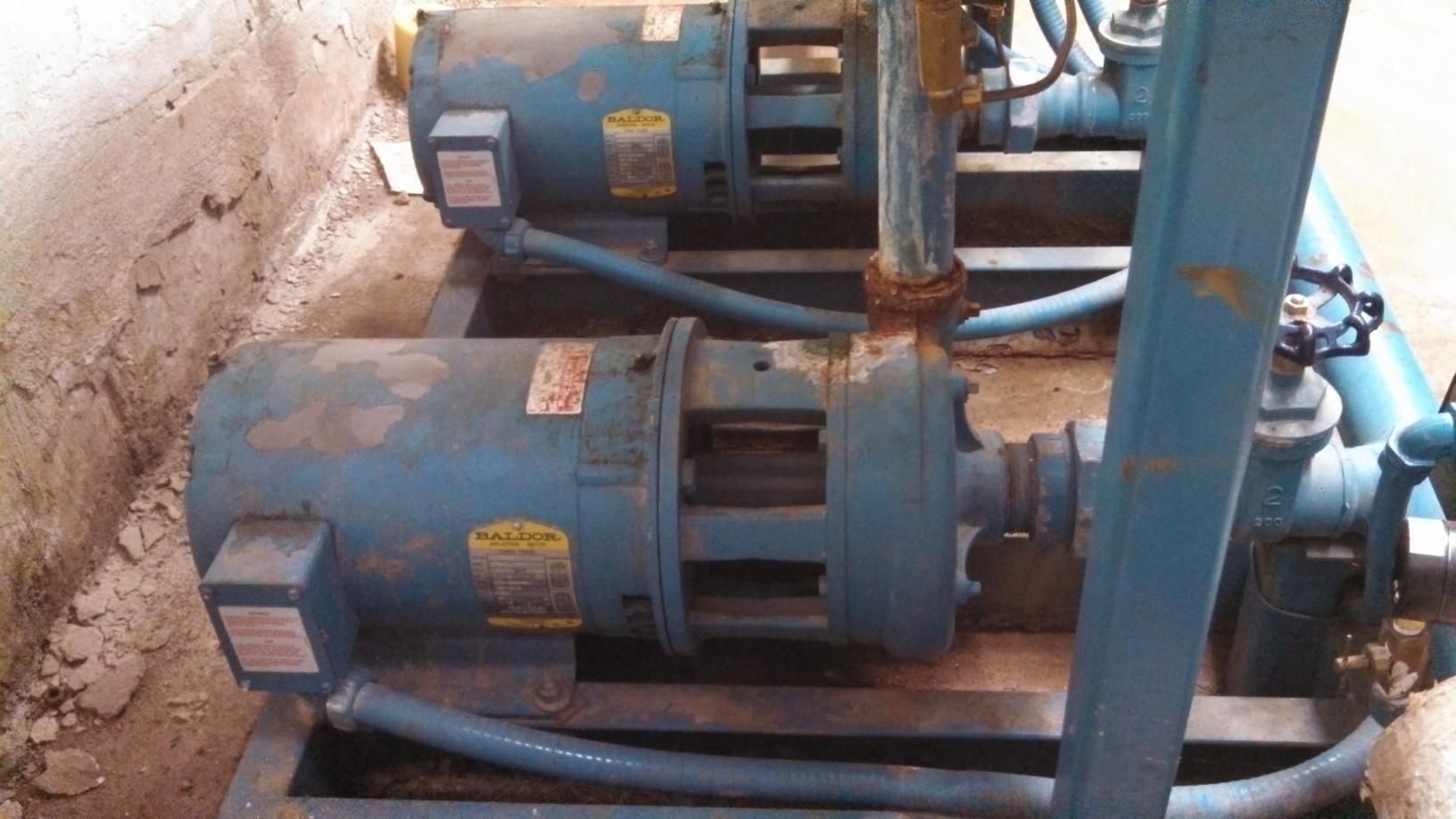 Cherry Brook Booster Pump Replacement in Canton, CT - Before Photo