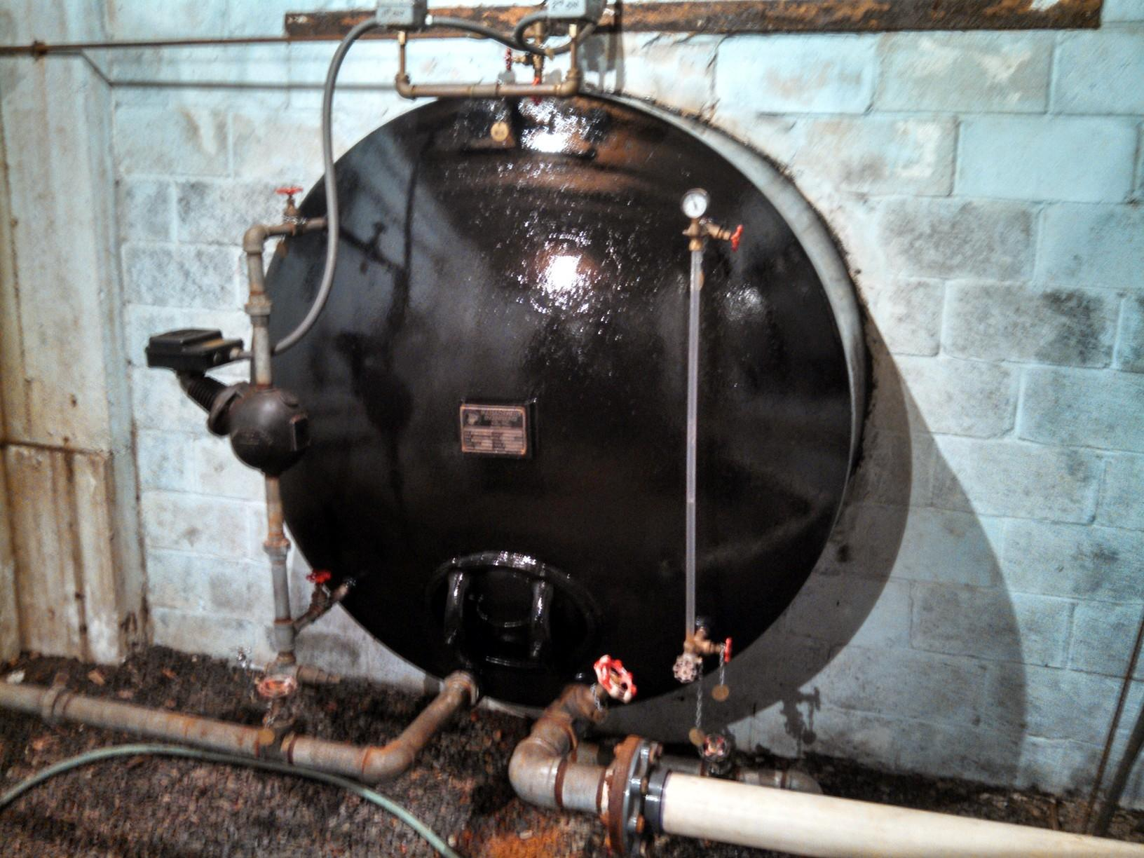 Pressure Tank Restoration in East Granby, CT - After Photo