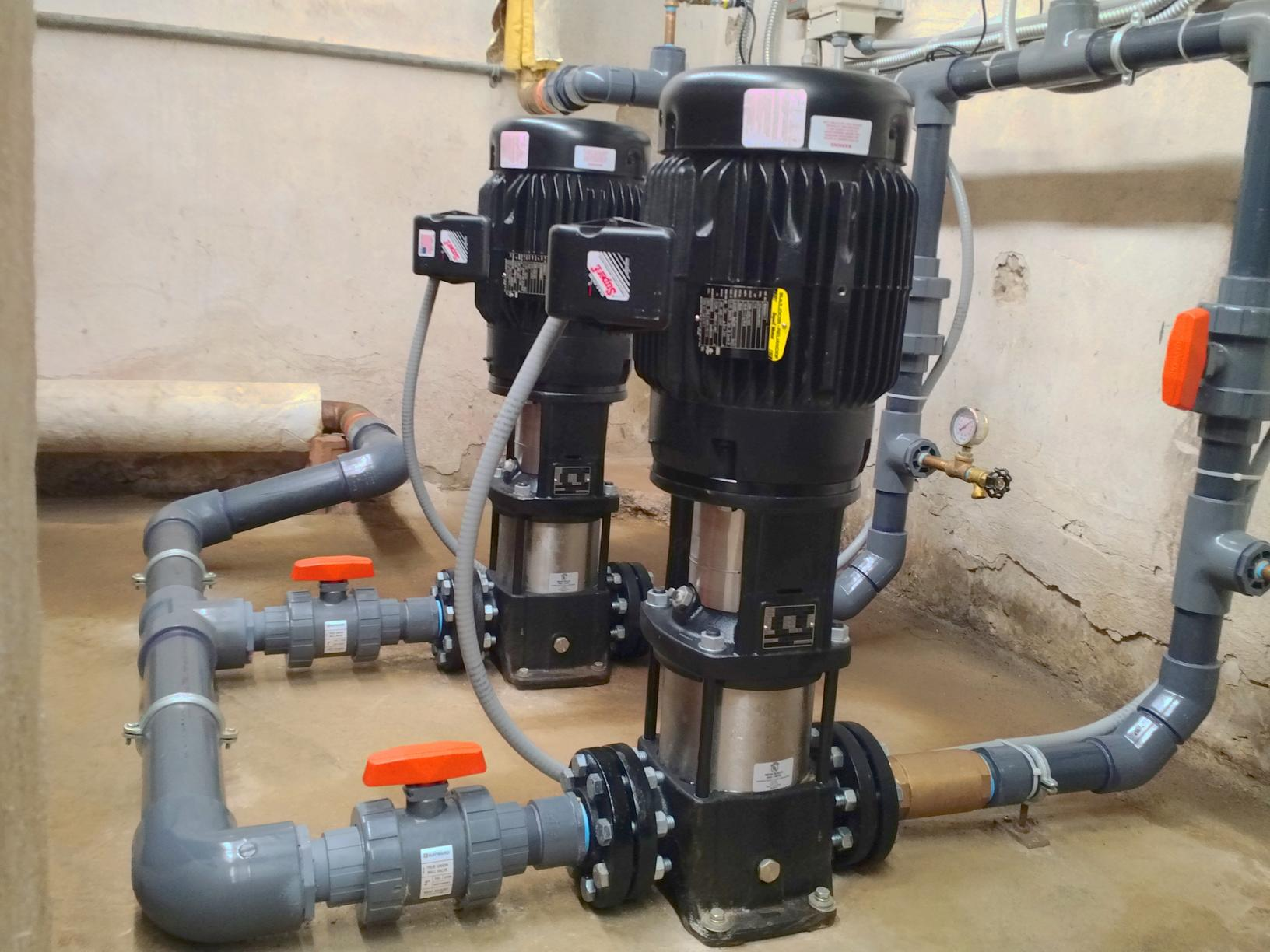 Cherry Brook Booster Pump Replacement in Canton, CT - After Photo