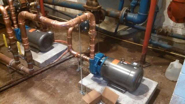 Newtown, CT Booster Pump Replacement