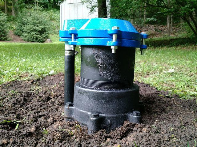 Well Cap Replacement in Woodbury, CT