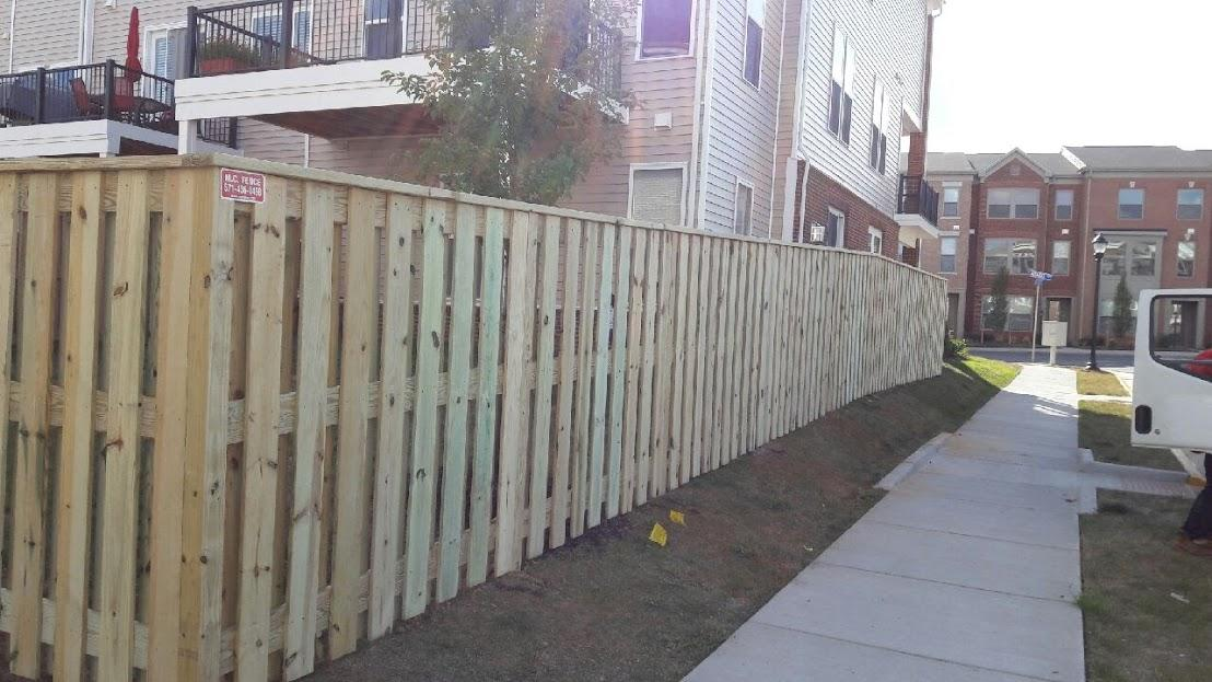 Privacy Fence Install in Aldie VA - After Photo