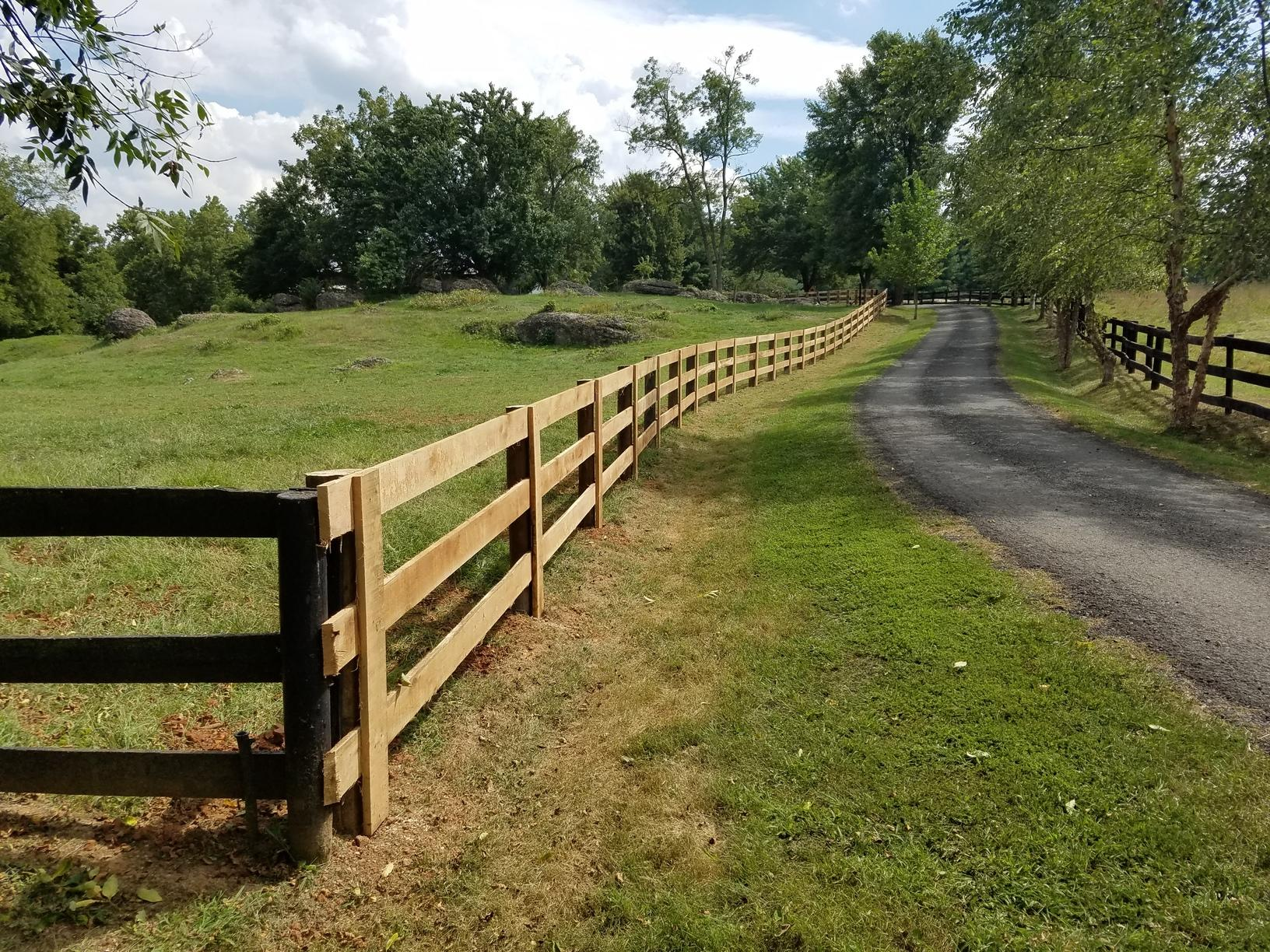Paddock Fence installation, Hamilton, VA - After Photo