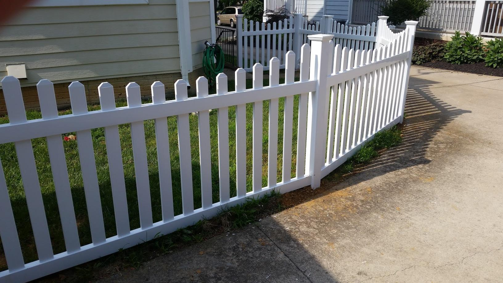 Vinyl Fence Installation in Round Hill, VA - After Photo