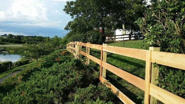 Paddock Fence Installation in Hamilton, VA - After Photo