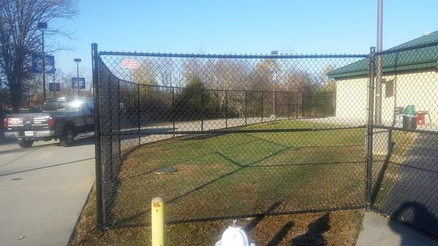 Fence Installation in Ashburn, VA - After Photo