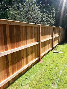 Fence Installation in leesburg, VA - After Photo