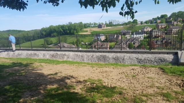 Black Aluminum Fence Installation in Bethel Park, PA - After Photo