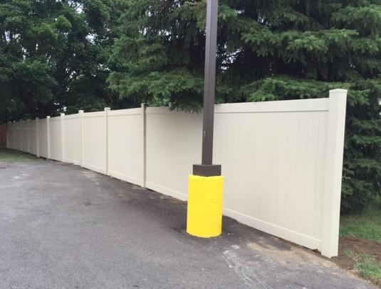 6'  Privacy Vinyl Fence Replacement in Beaver, PA - After Photo