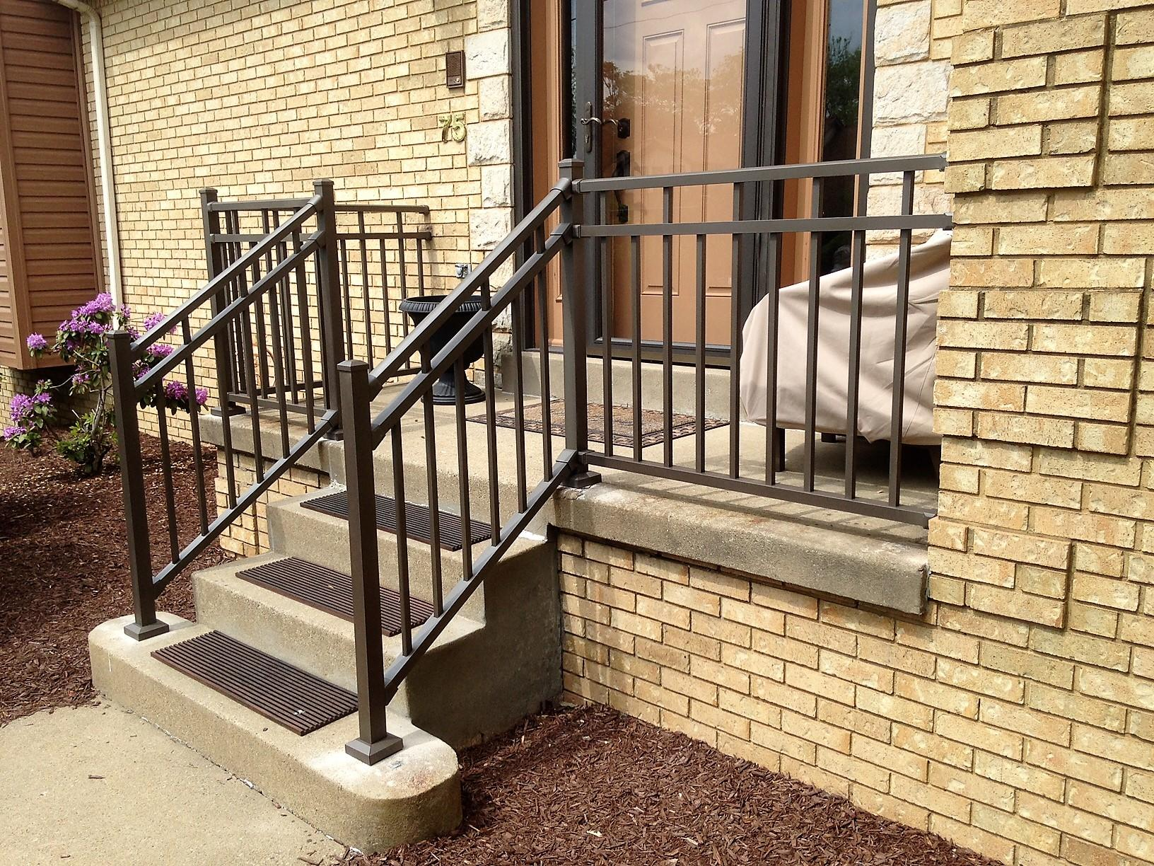 Pittsburgh, PA Railing Replacement - After Photo