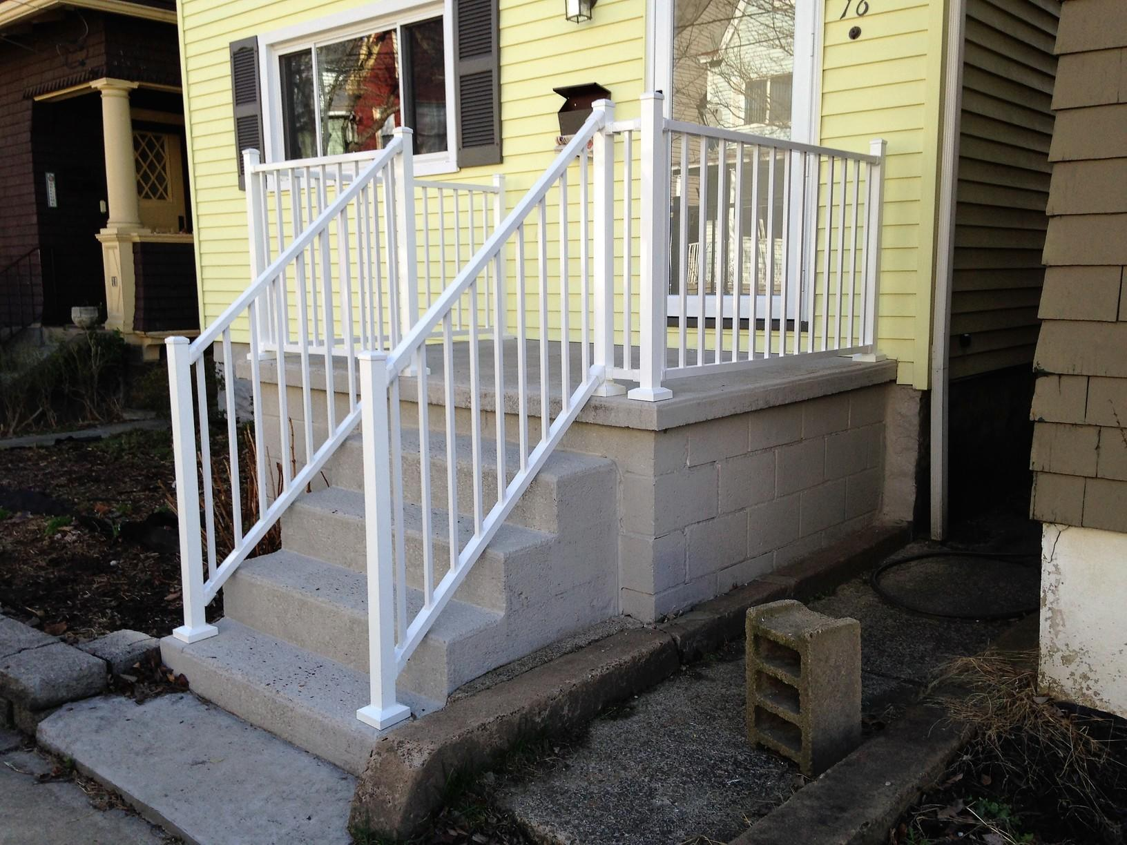 Aluminum Railing Installation in Pittsburgh, Pa - After Photo
