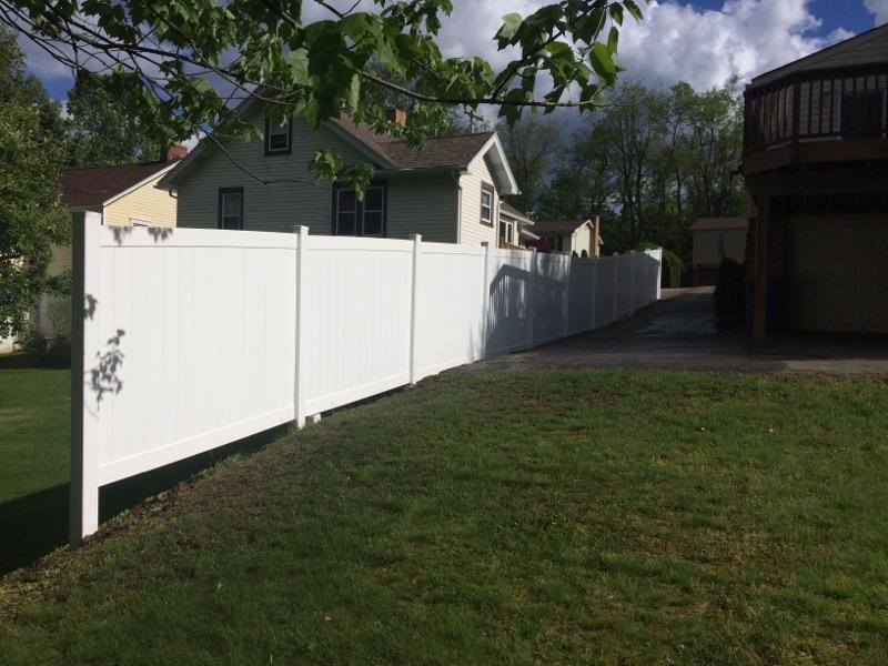 Privacy Fence Installation in Glenshaw, Pa - After Photo