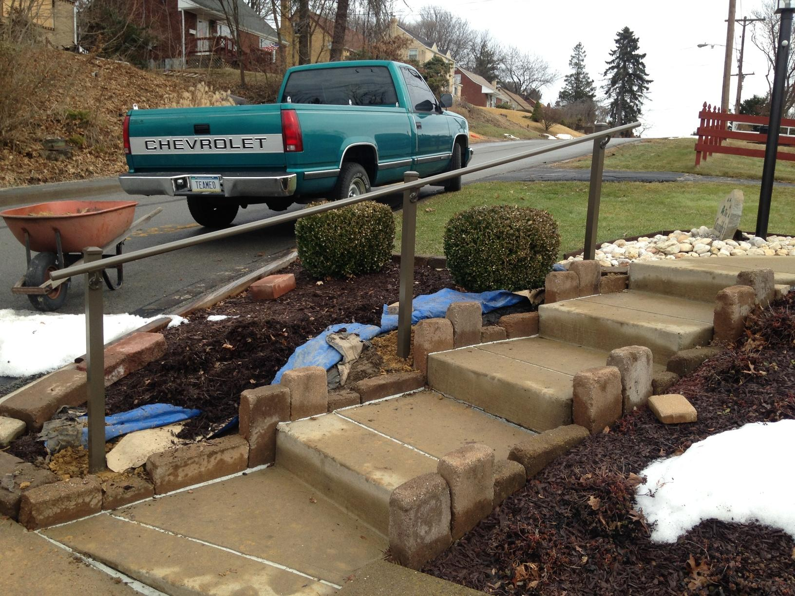 Continuous Handrail Installation in Verona, PA - After Photo