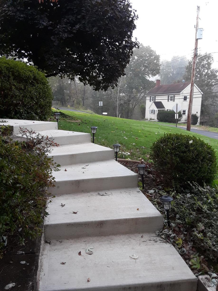 Tuscany Aluminum Railing Installation in South Park, PA - Before Photo