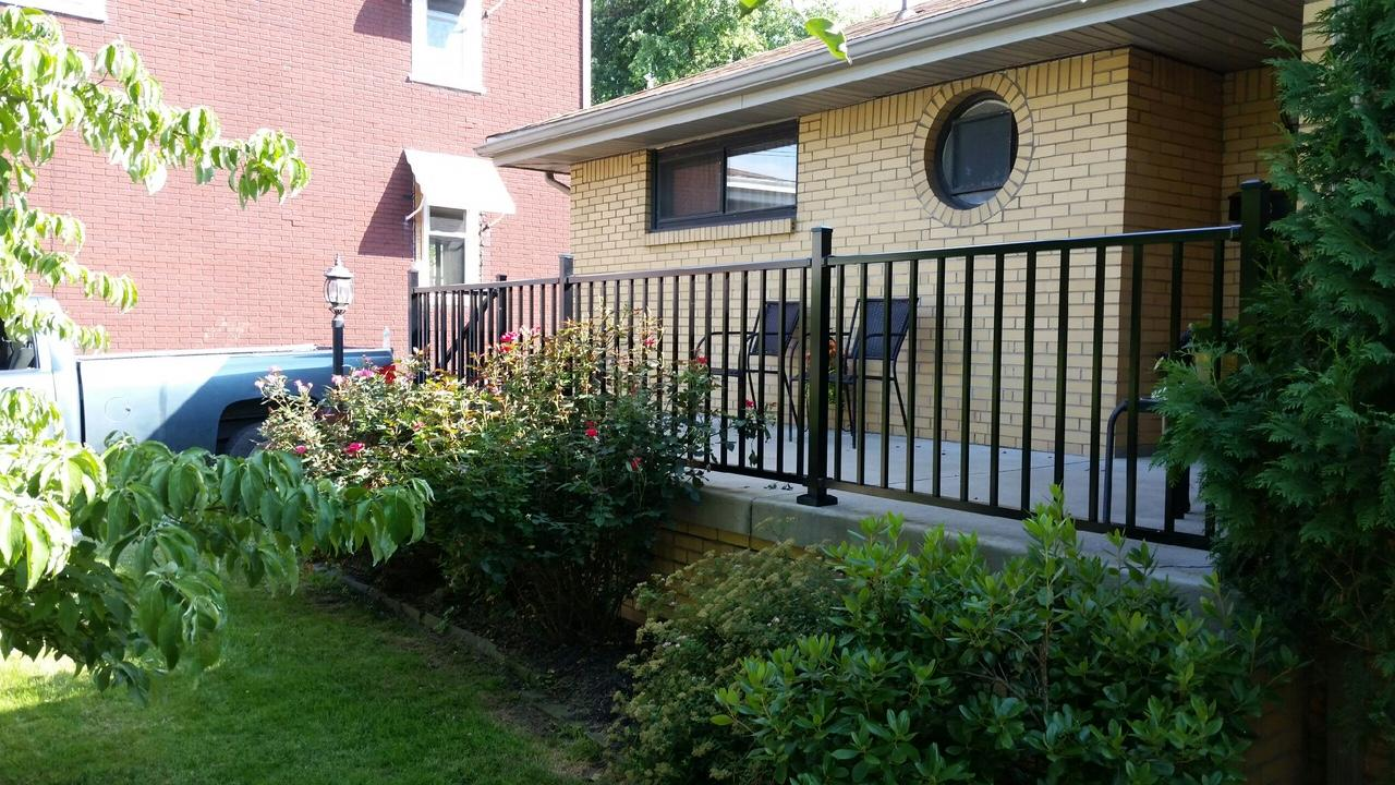Black Aluminum Railing Replacement in Carnegie ,PA - After Photo