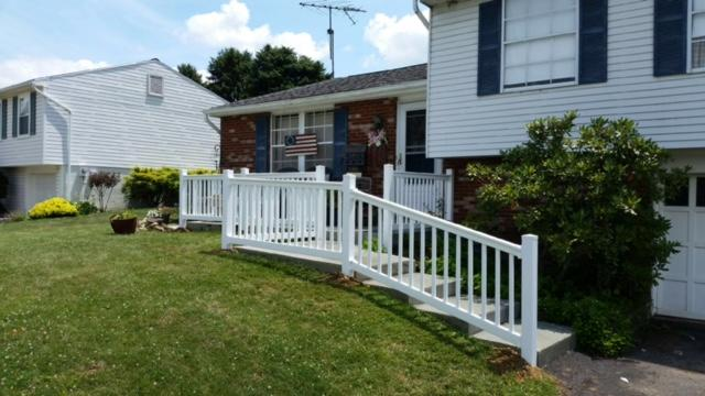 New White Vinyl Railing Replacement in Conway, PA