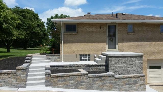 46in. Black Textured Railing Installation in Cecil, PA