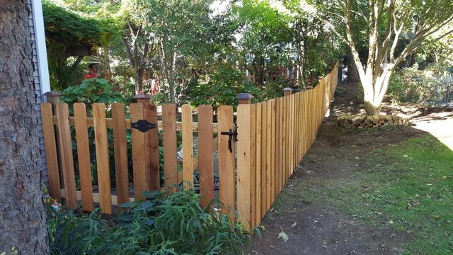 Cedar Picket Fence Installation in Fox Chapel, PA